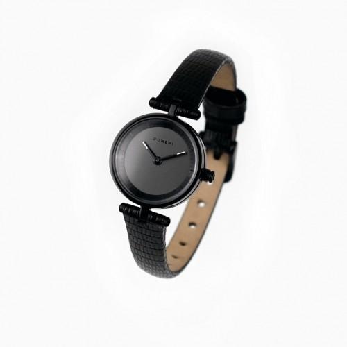 도메니코 여자시계 Micro Signature Series - Black